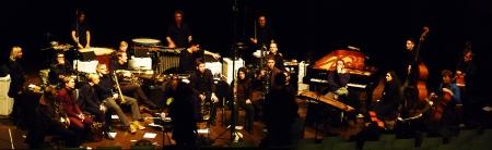 Splitter Orchester durante la prueba de sonido